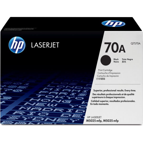 HP 70A Black Toner Cartridge (Q7570A)