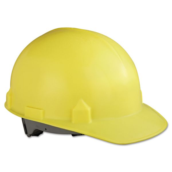 Jackson Safety* SC-6 Head Protection w/4-Point Suspension, Yellow