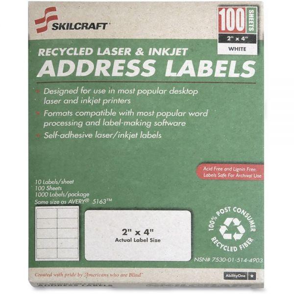 Skilcraft Permanent Return Address Labels