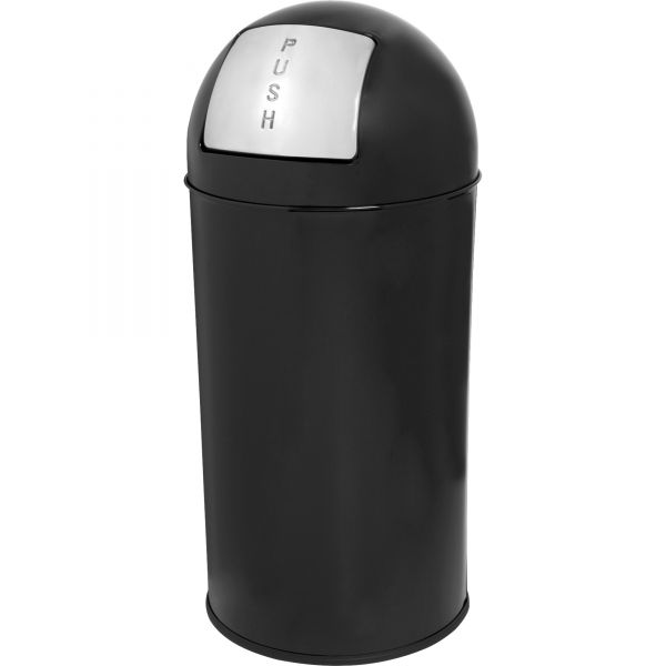 Genuine Joe Classic Round Top 12 Gallon Trash Can