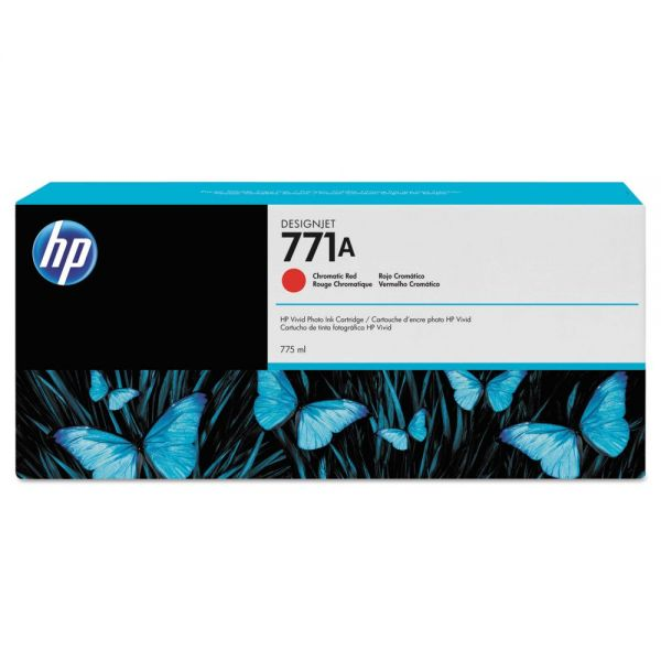 HP HP 771, (B6Y16A) Chromatic Red Original Ink Cartridge