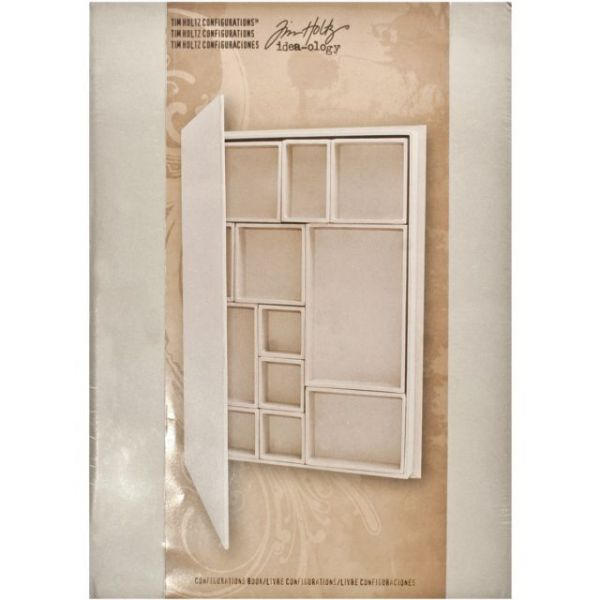 Idea-Ology Configurations Chipboard Shadow Box Book