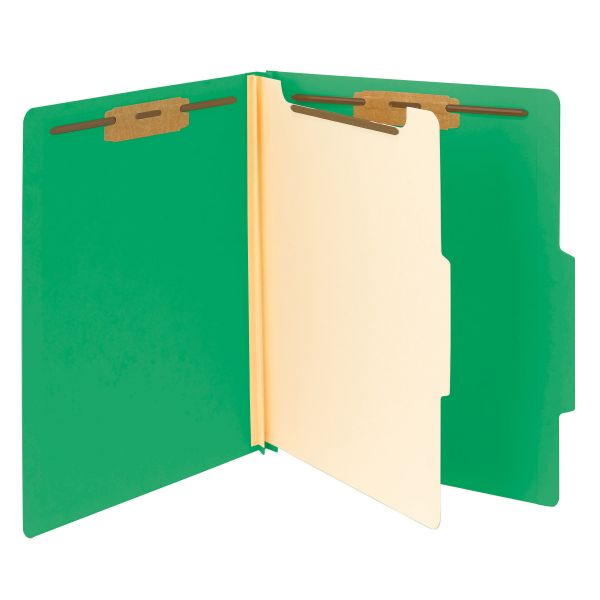 Smead Green Classification File Folders