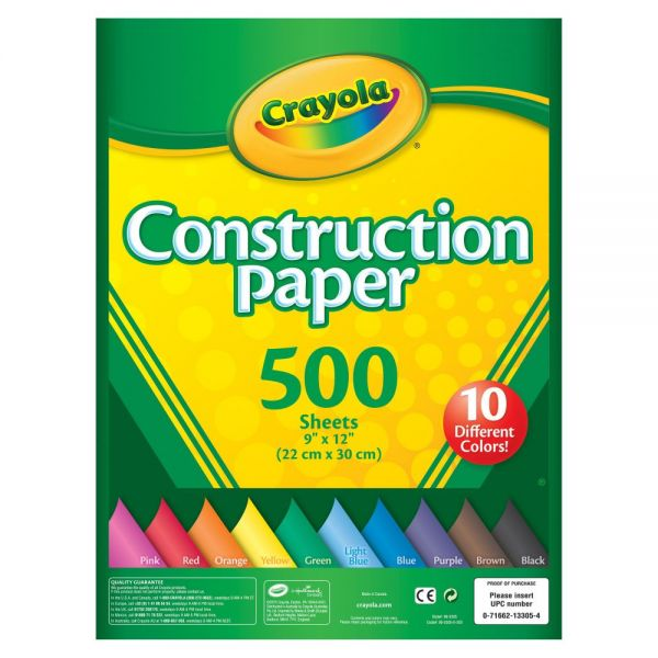 Crayola Construction Paper