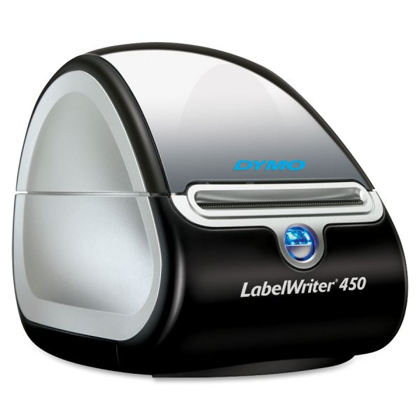 Dymo LabelWriter 450 Direct Thermal Printer - Monochrome - Label Print