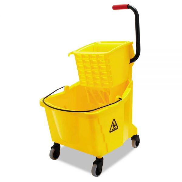 UNISAN Pro-Pac Side-Squeeze Wringer with Bucket Combo
