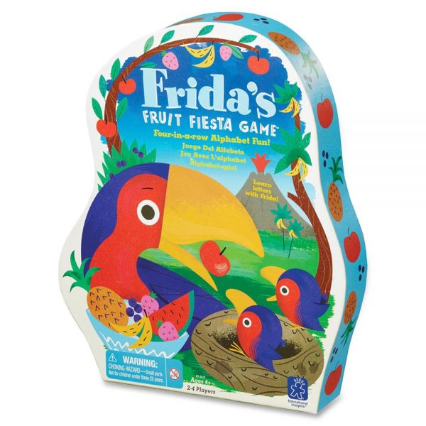 Educational Insights Frida's Fruit Fiesta Alphabt Game