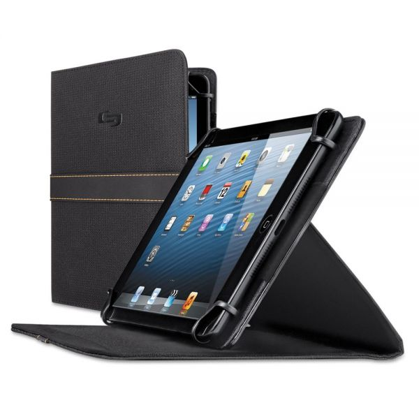 "Solo Urban Universal Tablet Case, Fits 5.5"" up to 8.5"" Tablets, Black"
