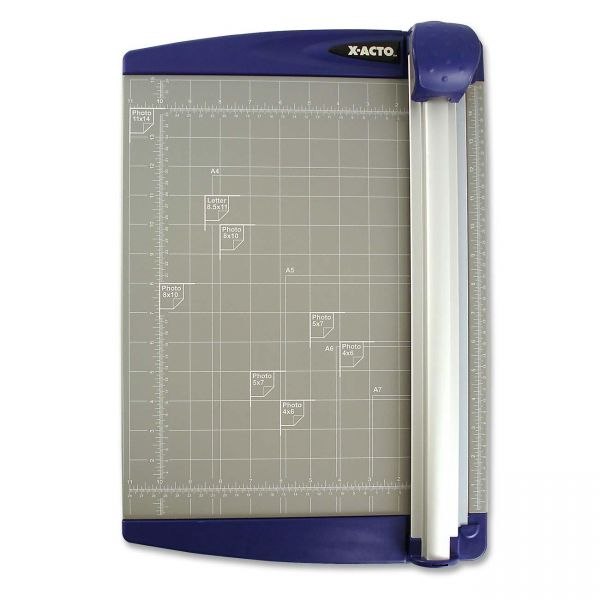 """X-ACTO Rotary 12"""" Paper Cutter"""