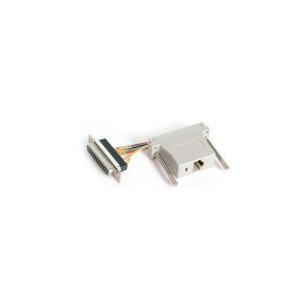 StarTech.com DB25 to RJ45 Modular Adapter - F/F