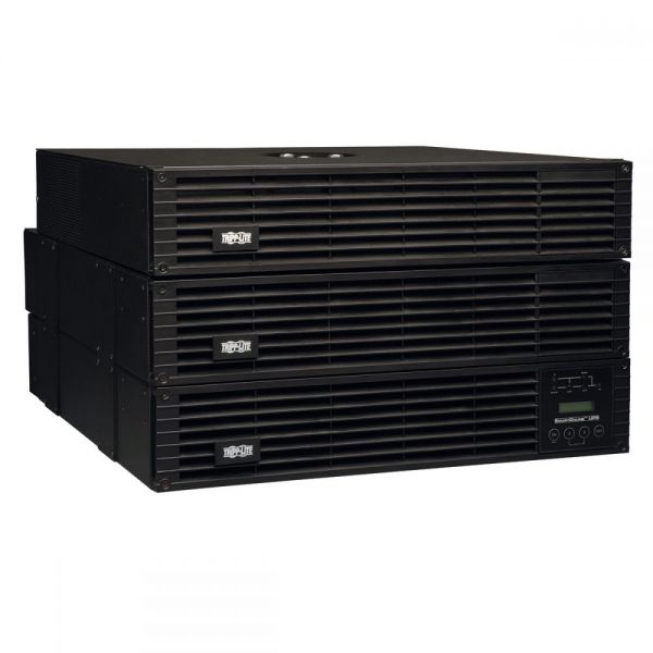 Tripp Lite UPS Smart Online 6000VA 5400W Rackmount 6kVA 208/240/120V USB DB9 Manual Bypass Hot Swap 6URM