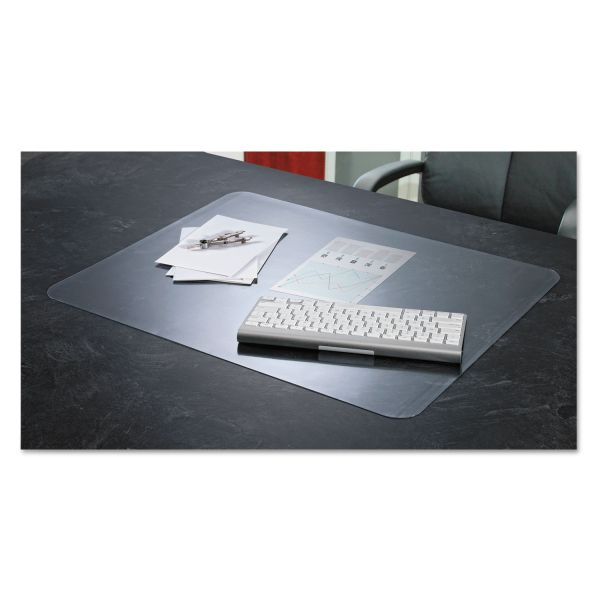 Artistic KrystalView Desk Pad with Microban, 24 x 19, Matte, Clear