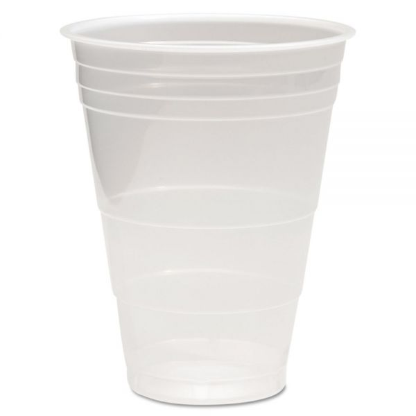 Boardwalk Translucent Plastic Cold Cups, 16oz, Polypropylene, 50/Pack