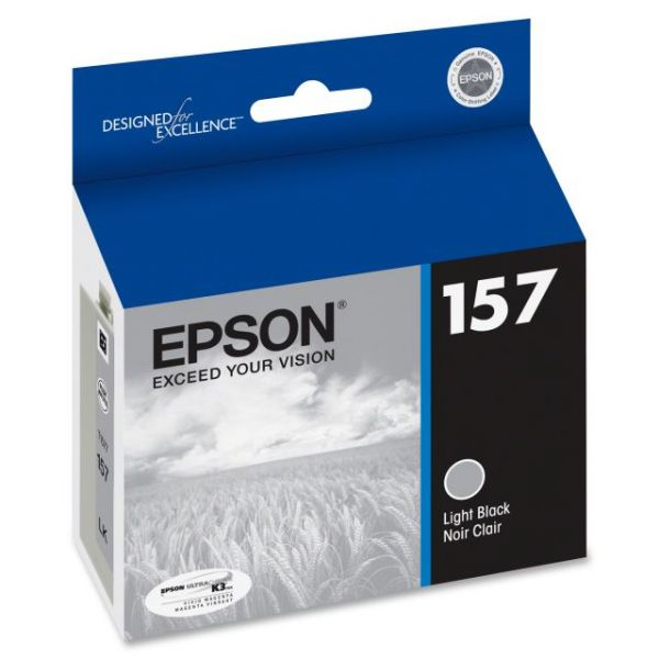Epson 157 UltraChrome Light Black Ink Cartridge (T157720)
