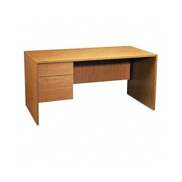 Global Genoa Series Single Left Pedestal Computer Desk