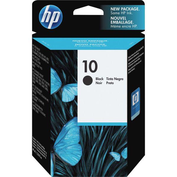 HP 10, (C4844A) Black Original Ink Cartridge