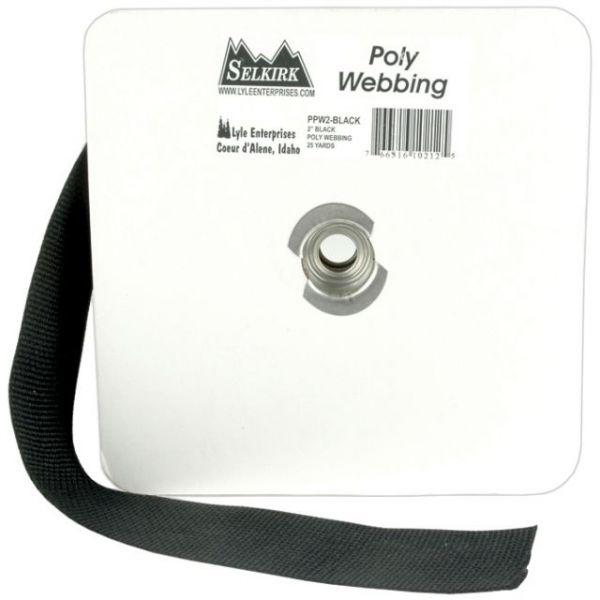 """Polypro Webbing 2""""X25yd"""