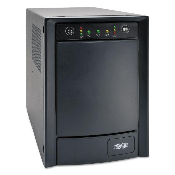 Tripp Lite UPS Smart 1500VA 900W Tower Pure Sine Wave AVR USB DB9