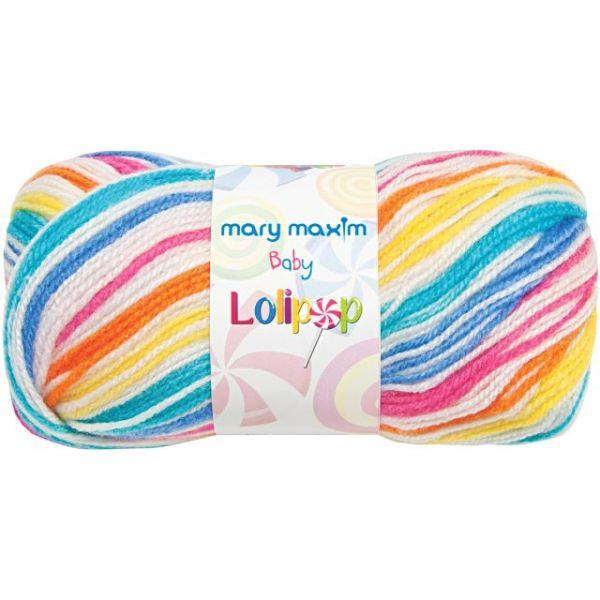 Mary Maxim Baby Lollipop Yarn