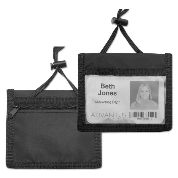 Advantus ID Badge Holder/Convention Pouches