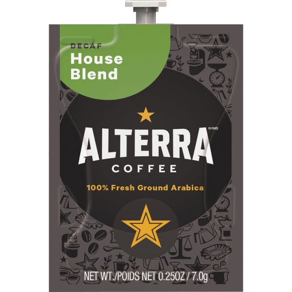 Alterra House Blend Coffee Freshpacks - Decaf