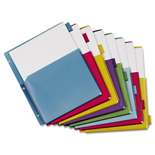 Cardinal Expanding Pocket Tab Index Dividers