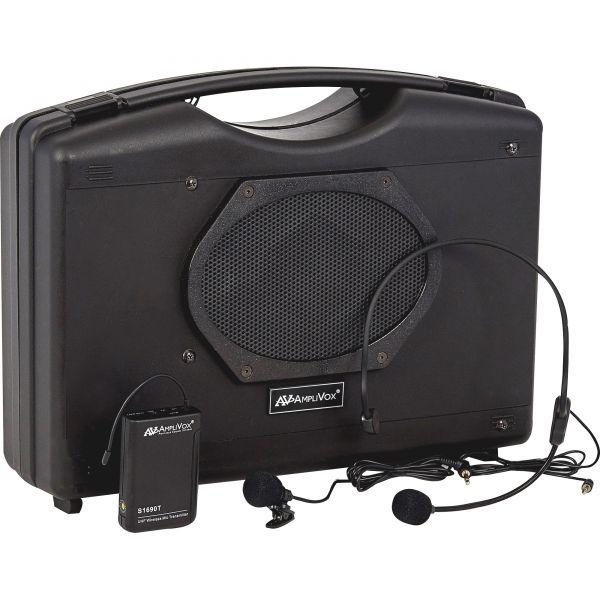 AmpliVox Wireless Audio Portable Buddy Professional Group Broadcast Pa System
