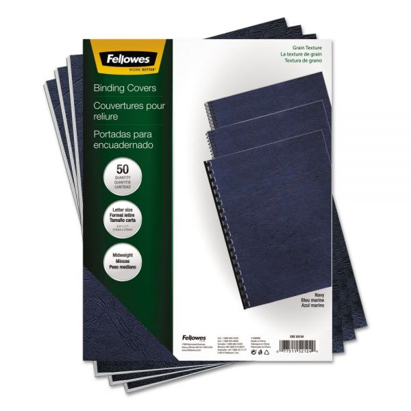 Fellowes Classic Grain Texture Binding Covers
