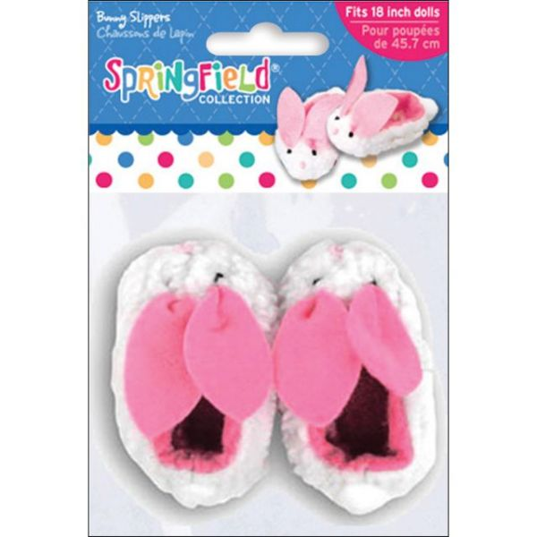 Springfield Collection Bunny Slippers