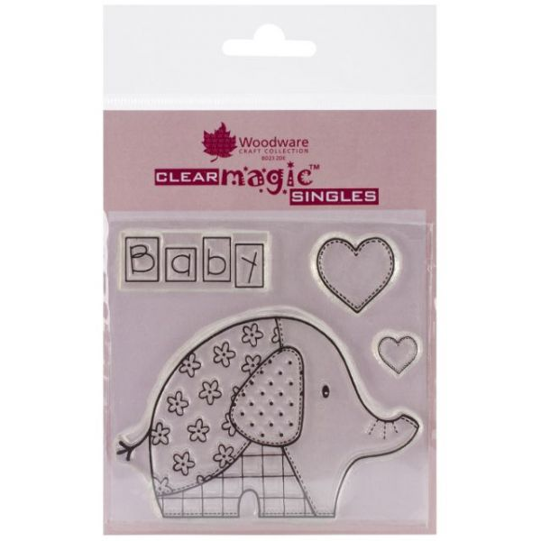 "Woodware Clear Stamps 3.5""X3.5"" Sheet"