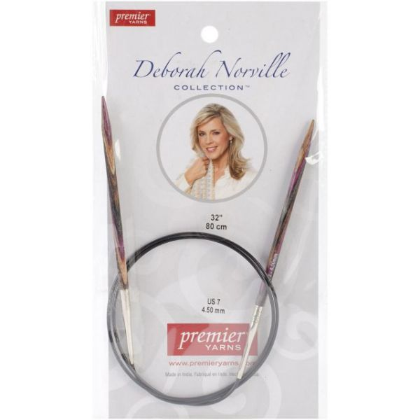 Deborah Norville Fixed Circular Knitting Needles 32""