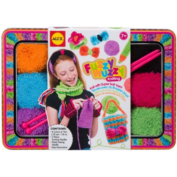 ALEX Toys Fuzzy Wuzzy Knitting Kit