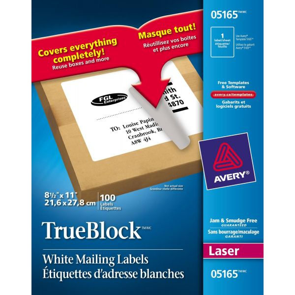 Avery 5165 Shipping Labels