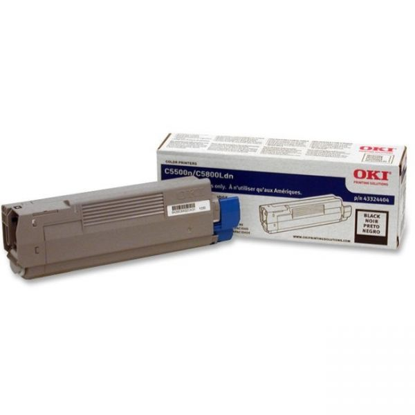 Oki 43324404 Black Toner Cartridge