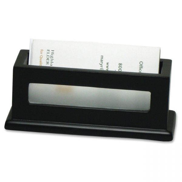 Victor 1156-5 Midnight Black Business Card Holder