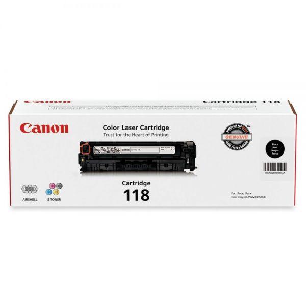 Canon 118 Black Toner Cartridge (CRTDG118-BK)