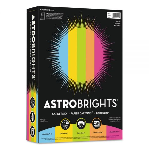 Astrobrights Color Cardstock