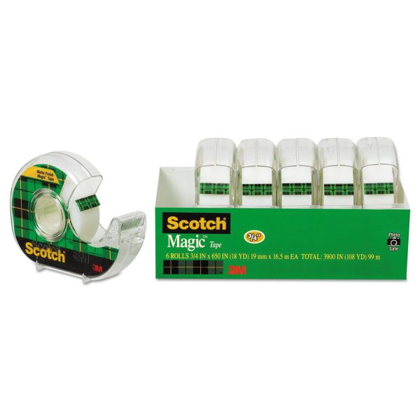 "Scotch 3/4"" Magic Invisible Tape"