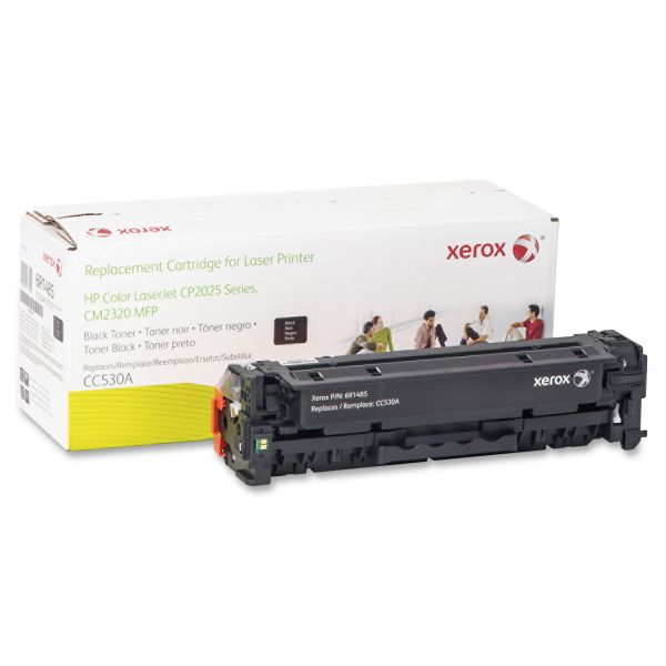 Xerox Remanufactured HP CC530A Black Toner Cartridge