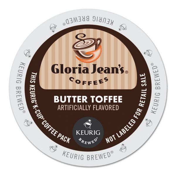 Gloria Jean's Butter Toffee Coffee K-Cups