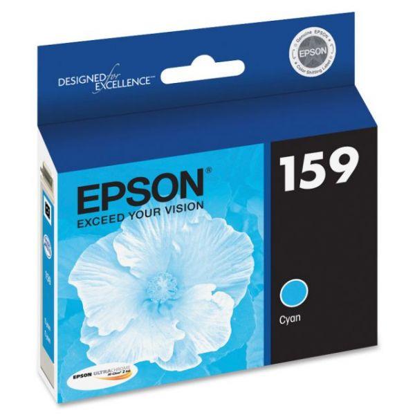 Epson 159 UltraChrome Cyan Ink Cartridge (T159220)