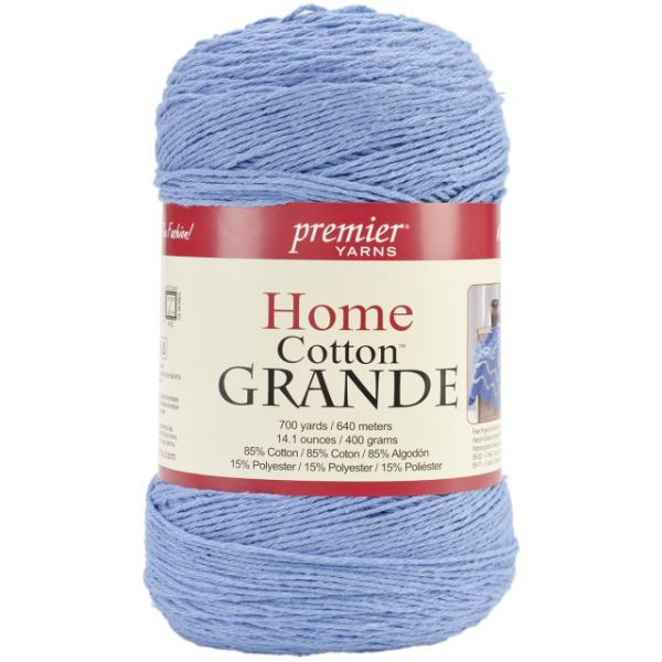 Premier Home Cotton Grande Yarn - Cornflower
