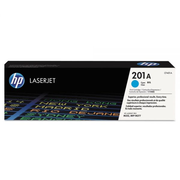 HP 201A Cyan Toner Cartridge (CF401A)