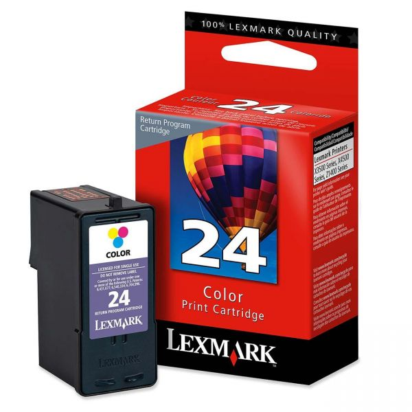 Lexmark #24 Color Return Program Ink Cartridge