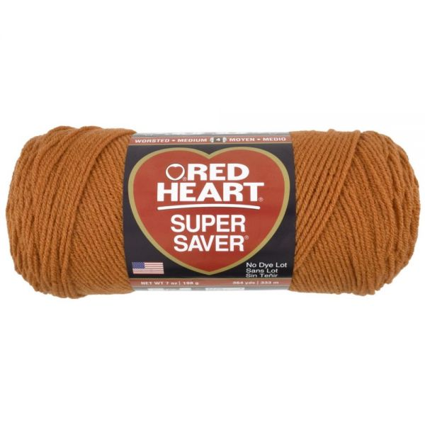 Red Heart Super Saver Yarn - Carrot