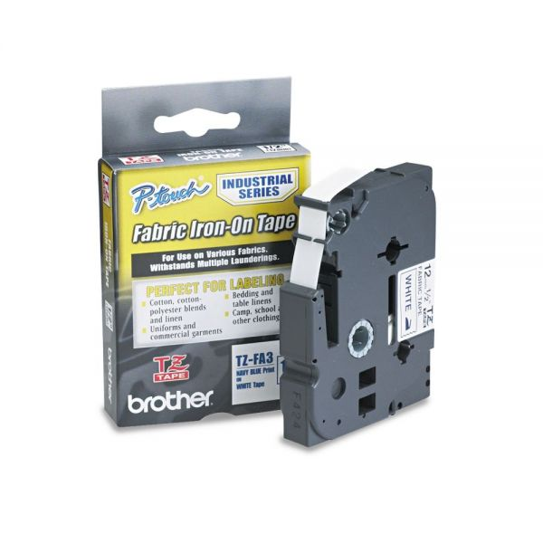 Brother P-Touch Iron-On Label Tape Cartridge