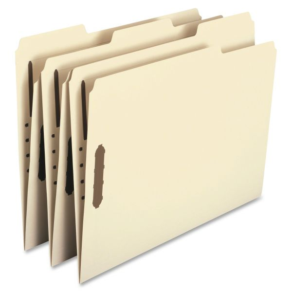 Smead Manila File Folders With Fasteners