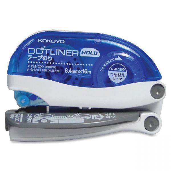 Kokuyo Dot Liner Hold Glide Adhesive Tape Roller