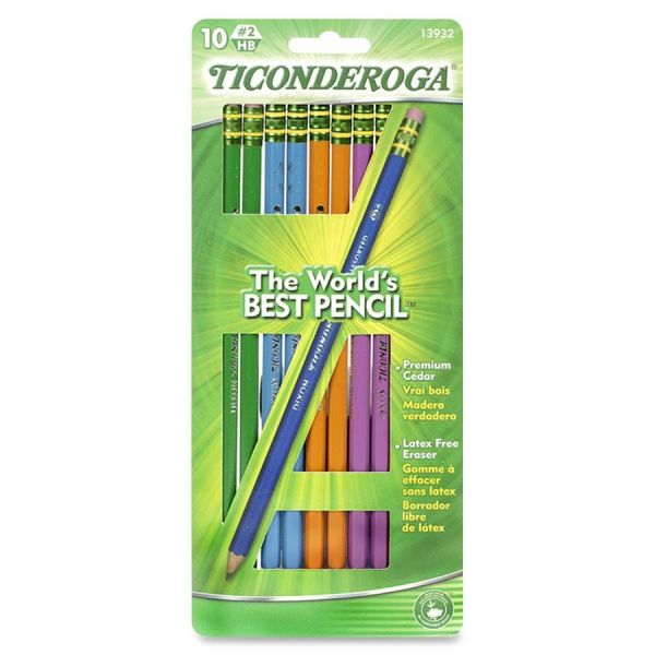 Ticonderoga #2 Wood Pencils