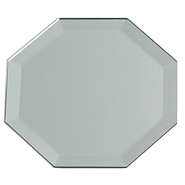 Octagon Glass Mirror W/Bevel Edge Bulk